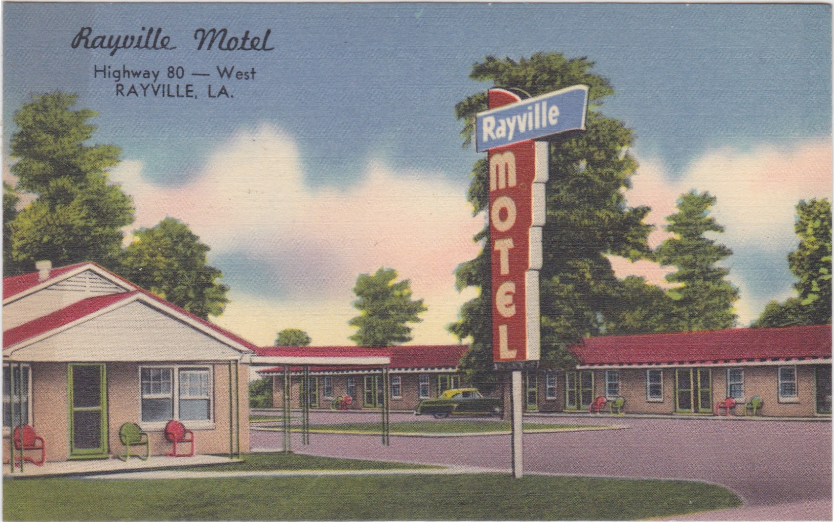 Rayville motel
